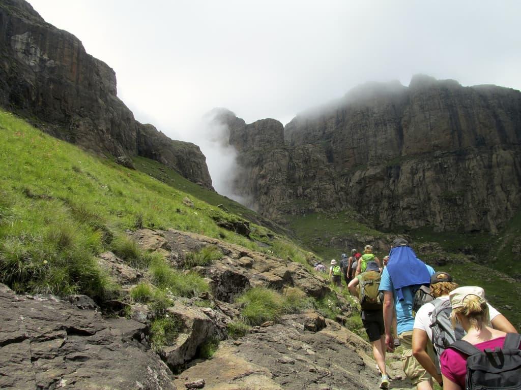 Drakensberg Amphitheatre Scenery