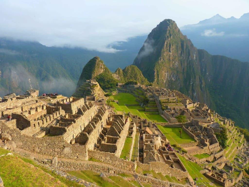 Peru Mountain Ruin